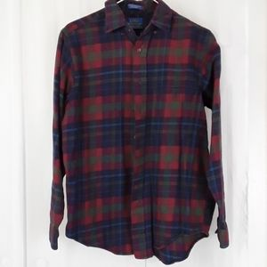 Lobo by Pendleton sz M plaid button down shirt